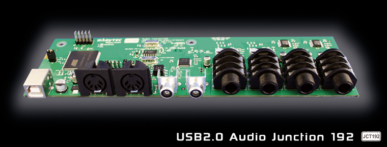 USB2.0 Audio Junction 192